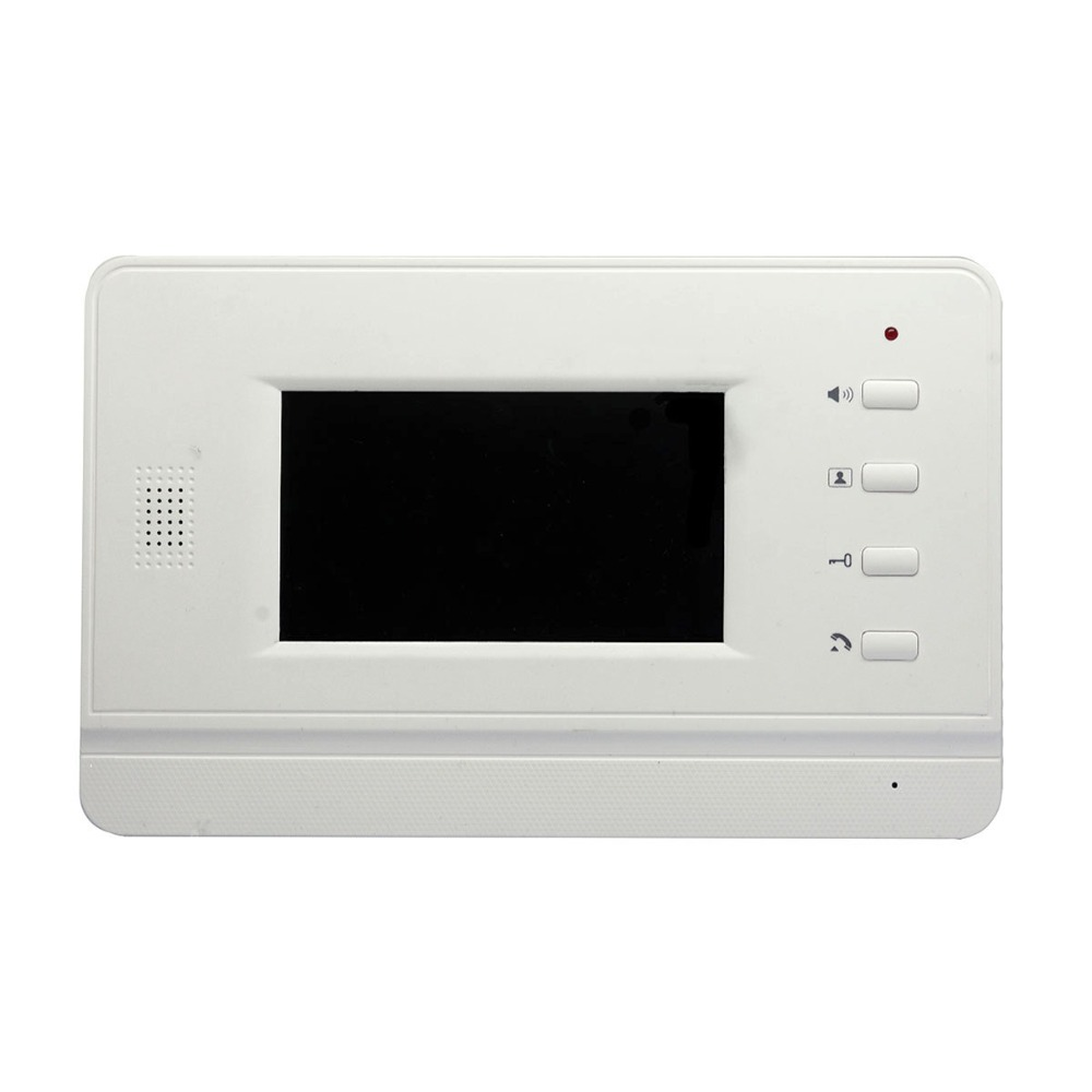 4.3 Inch  LCD Display For  Wired Intercom Video Door Phone Without Camera