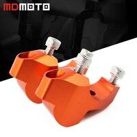 CNC Aluminum Motorcycle Handlebar Clamp Riser Handle Bar Risers Mount Clamp Adapter For KTM Adventure 1050 1090 1190 1290 ADV GT