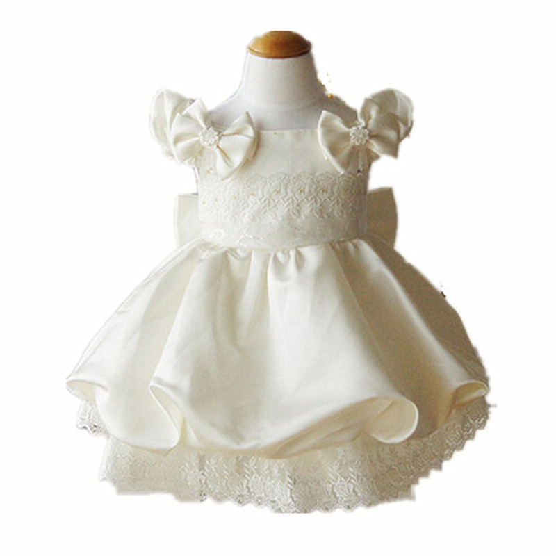 BBWOWLIN Baby Clothes 1 Year Birthday Dress Girl Party Christening Dress for Wedding Flowers First Communion Dresses 80481 toddler girl dresses chinese new year lace embroidery flowers long sleeve baby girl clothes a line red dress for party spring