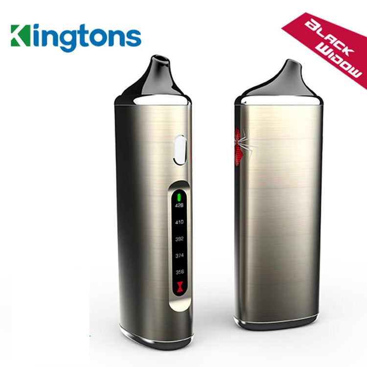 black window kingtons dry herb vaporizer electronic cigarett kit detail
