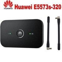 Unlocked Huawei e5573 E5573bs 320 E5573S 320 Give 2 antenna 4g lte wifi router 3G 4G WiFi Hotspot Wireless Router pk e5377 e5372