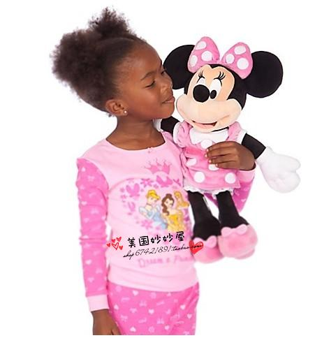 new special authentic minnie mouse 45cm big stuff pink cute plush toy girl birthday christmas gift in stuffed plush animals from toys hobbies on - Girl Stuff For Christmas