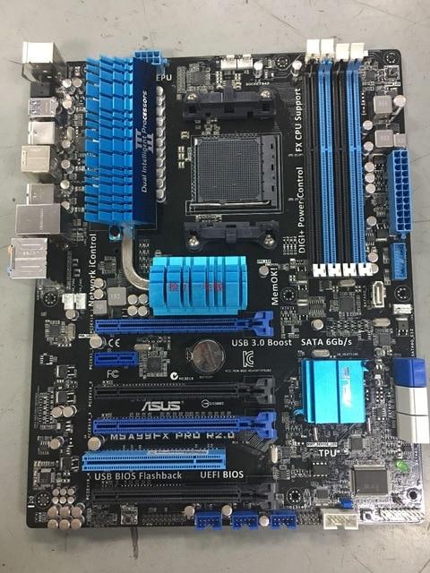 Original Motherboard For ASUS  M5A99FX PRO R2.0 Socket AM3+ DDR3 SATA III USB2.0 USB3.0 32GB Desktop Motherboard