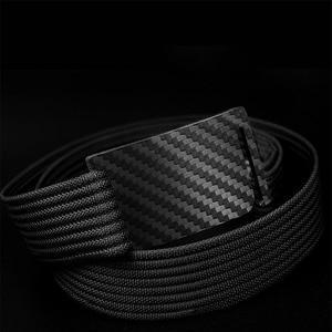 Image 3 - SupSindy Hypoallergenic คาร์บอนไฟเบอร์เข็มขัดเข็มขัดผู้ชาย & ผู้หญิงเข็มขัดผ้าใบไนล่อน QUICK RELEASE เข็มขัดยุทธวิธีชายสาย