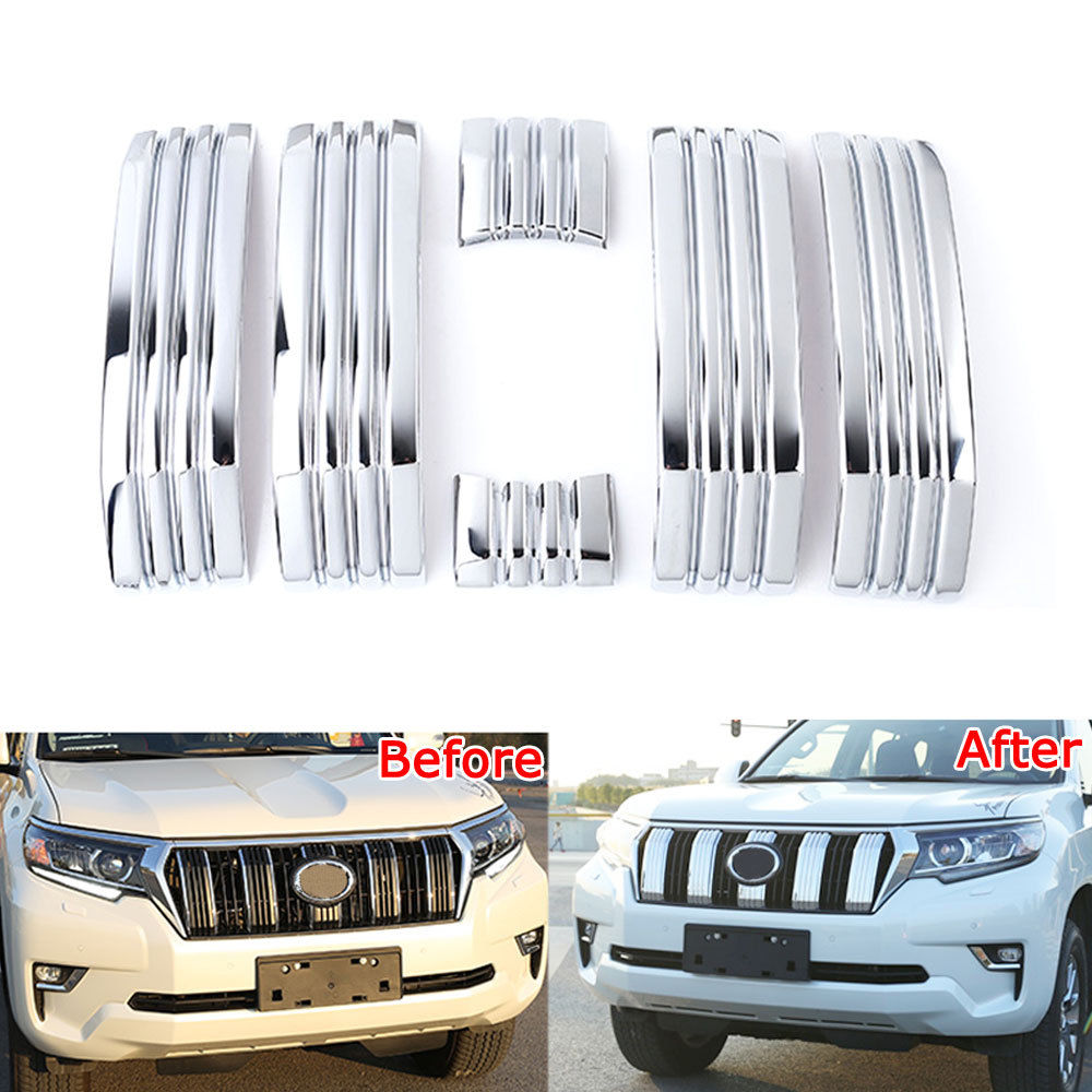 BBQ@FUKA New Car Accessories ABS Front Middle Grill Grille