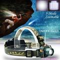 NEW CREE Q5 LED 2000 Lumens Motion Sensing Cree Led Zoomable Headlamp Headlight Sensor Head Light Flashlight For 1x18650 / 3xAAA