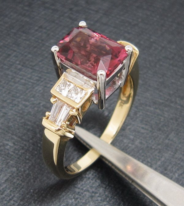 Promotion-Charming-Solid-14k-Multi-tone-Gold-Natural-2-30CT-Tourmaline-Diamond-Jewelry