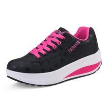 Kezrea Новый Для женщин кроссовки ходить летом кроссовки на платформе Chaussure Femme увеличивающие рост женские кожаные женская спортивная обувь