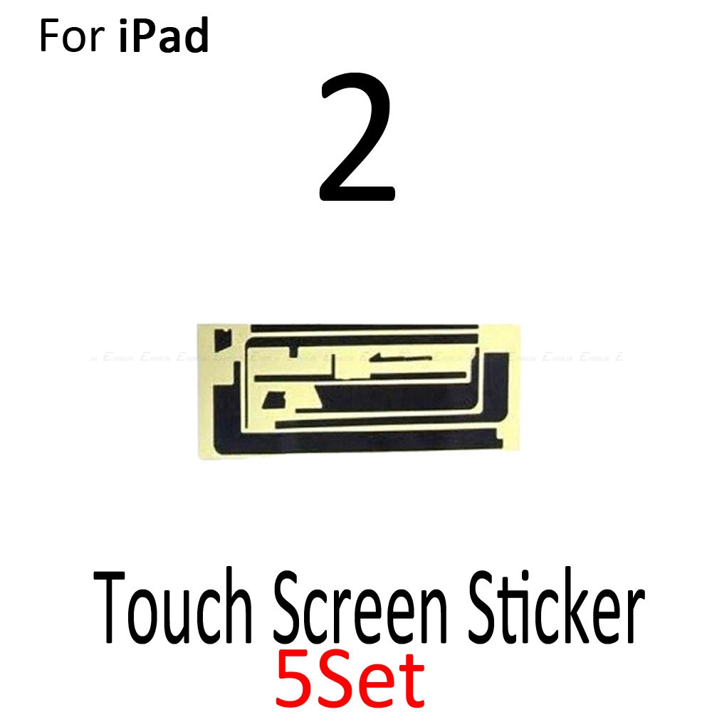 5 pieces 3M Adhesive Glue Sticker Strip Tape for iPad 2 New