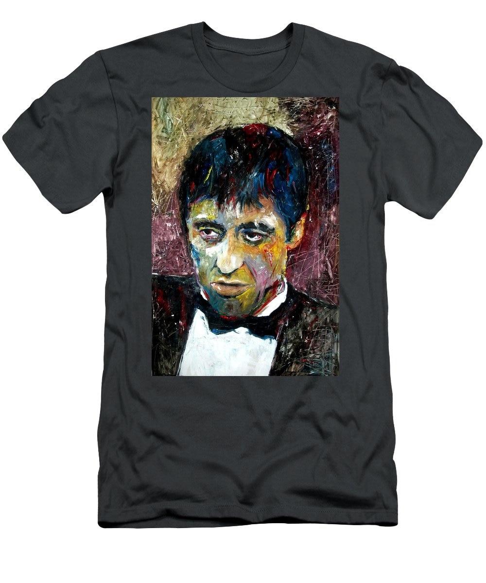 1 Al Pacino Tony Montana Scarface Marcelo Neira Men's New Arrival Short Sleeve T-shirt 2019 Streetwear Hip Hop Tops Supplement The Vital Energy And Nourish Yin