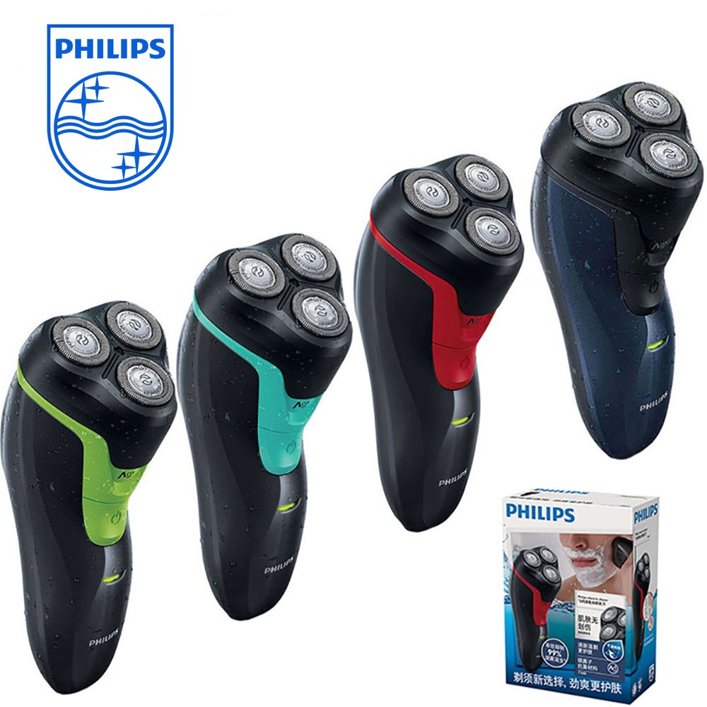 Philips Wet/Dry Waterproof Reciprocating Electric Shaver FT668/FT618 with Triple Blade Rechargeable Rotary Razor Shaving Machine
