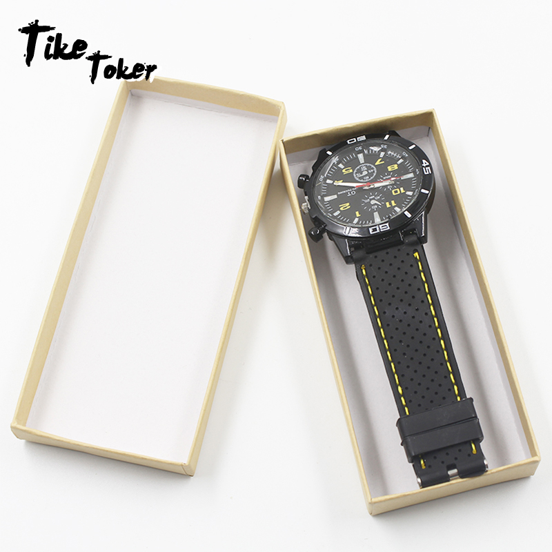 TIke Toker,Luxury Watch Box Paper Jewelry Wrist Watches Holder Display Storage Box Organizer Case Gift Paper Women Watch Box New bobo bird watches display box organizer storage box leatherette wrist watch holder jewelry display case