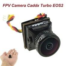 Камера FPV Caddx Turbo EOS2 1200TVL 2,1 мм 1/3 CMOS 16:9 4:3 Мини FPV камера Micro Cam NTSC/PAL для радиоуправляемого FPV дрона