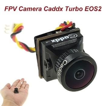 FPV Camera Caddx Turbo EOS2 1200TVL 2.1mm 1/3 CMOS 16:9 4:3 Mini FPV Camera Micro Cam NTSC/PAL For RC FPV  Drone 600tvl 1 4 1 8mm cmos fpv 170 degree wide angle lens camera pal ntsc 3 7 5v