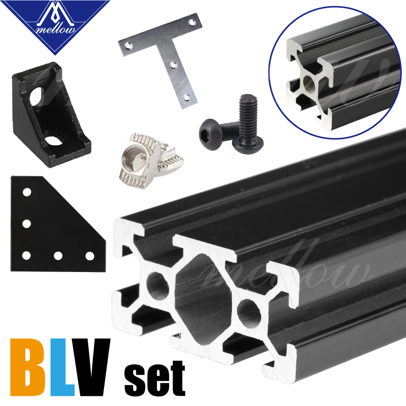 Chaud! pièces d'imprimante 3D Mellow BLV mgn Cube kit de cadre et Kit de matériel pour bricolage CR10 imprimante 3D Z hauteur 365 MM