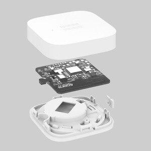 Image 5 - מקורי Aqara רטט הלם חיישן מובנה ג יירו חיישן תנועה עבור Xiaomi Mi בית App הגלובלי מהדורה