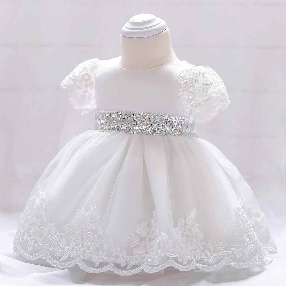 Vestido de bebé Floral de verano para fiesta de boda manga voladora pétalo de pera bautizo 1 año niño niña cumpleaños Bautismo
