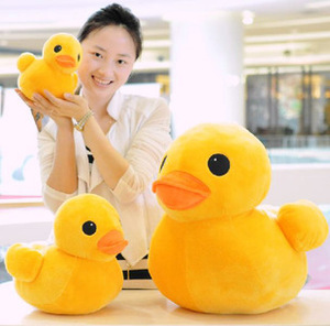 20cm Rhubarb duck toy duck plush doll wholesale and retails 1pair/lot freeshipping