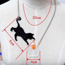Cat & Fish Necklace