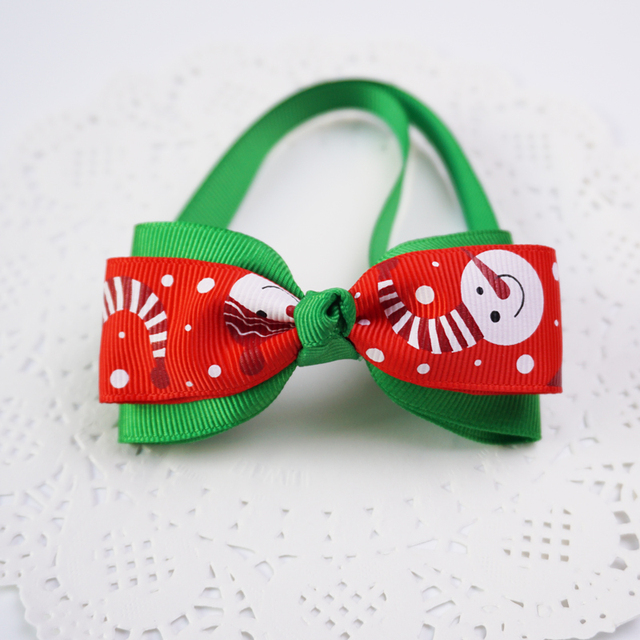 Christmas Bowtie With Bell 6