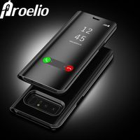 Proelio Touch Flip Stand Case For Samsung Galaxy S8 Plus S6 S7 Edge S6 Edge Note8