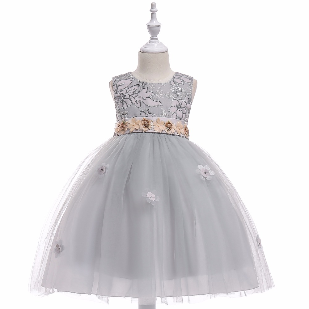 Summer Flower Girls Dresses 12 Year Children Clothing Dresses for Girls Party School Wedding Clothes Flower Girls' Dresse