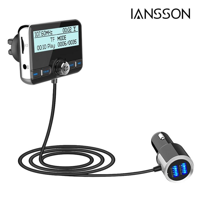 DBA002 lecteur MP3 Radio numérique DAB voiture Kit mains libres Bluetooth diffusion Audio numérique QC3.0 Charge rapide + Clip d'aération