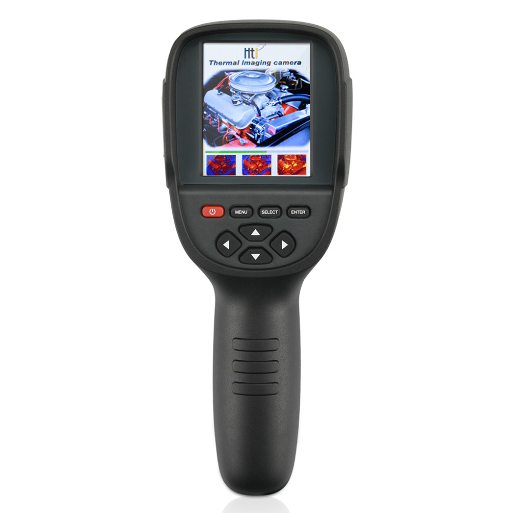 HT 18 Handheld Infrared Temperature Heat IR Digital Thermal Imager Detector Camera with storage 220x160 Resolution