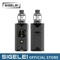 NEWEST E Electronic cigarrete Vape kit Sigelei Chronus Kit super power 10 200w New system design Better experience feelings