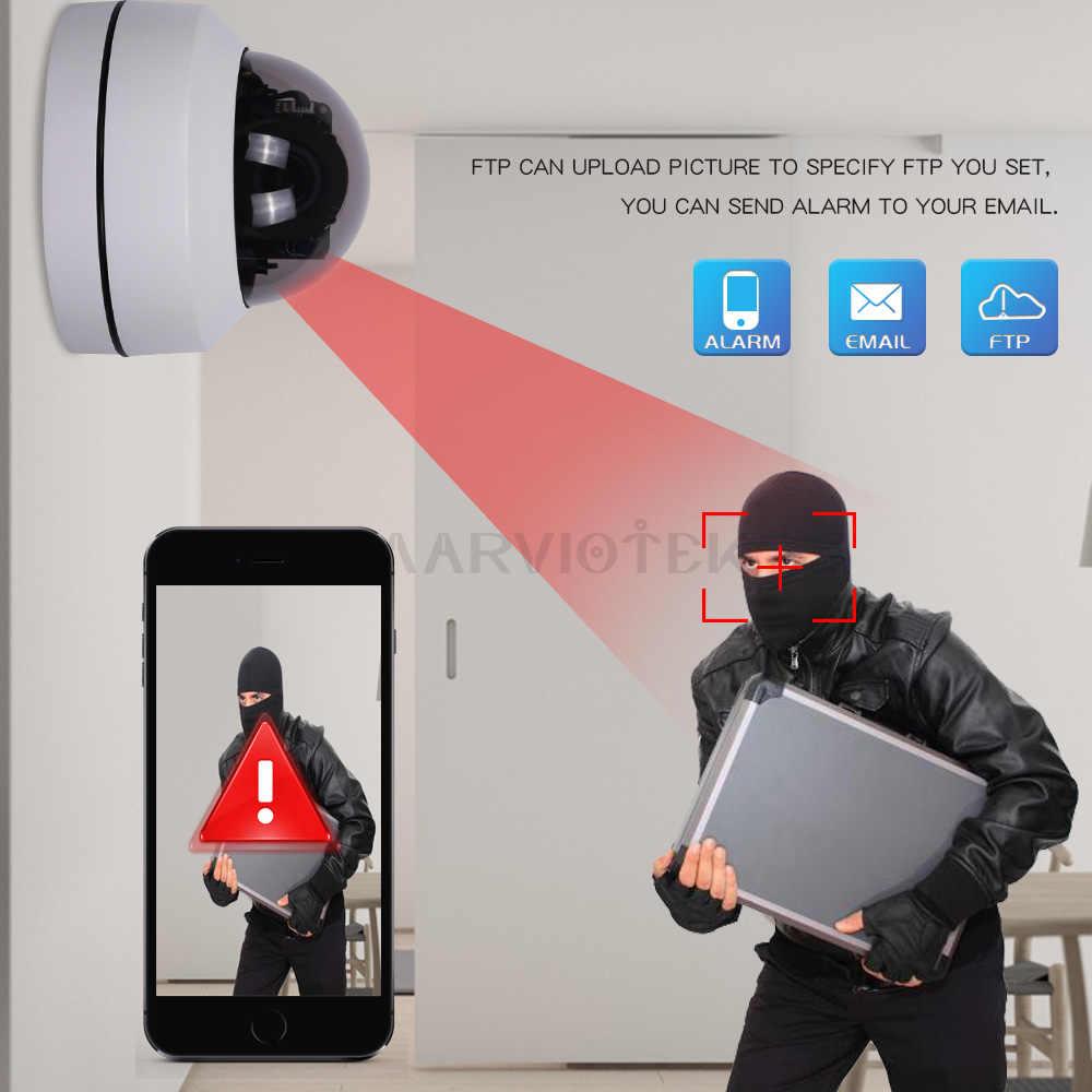 5MP PTZ IP камера наружная Мини скоростная купольная ip-камера HD Onvif 4X Zoom P2P CCTV камера 1080P ночного видения Водонепроницаемая POE опционально