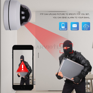 Image 4 - 5MP PTZ caméra IP extérieure Mini vitesse dôme caméra HD Onvif 4X Zoom P2P CCTV caméras 1080P Vision nocturne IP caméra POE étanche