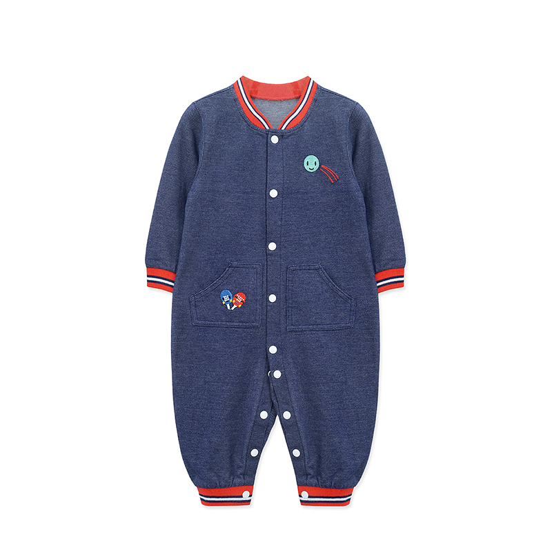 Infantil Real New For Bebek Baby Rompers 2018 Faashion Newborn Clothing Spring Soft Long Sleeve Rompers Cotton Infant Jumpsuit