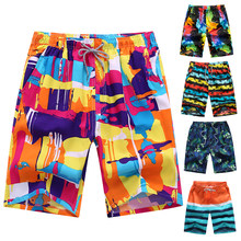 Men Printed Beach Shorts Quick Dry Running Shorts Swimwear Swimsuit Swim Trunks Beachwear Sports Shorts Plus Size shorts XXXL(China)