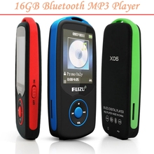 Factory Price 16GB Bluetooth Sports MP3 music Player RUIZU X06 MP3 Player 1.8 Inch 100hours high quality lossless Recorder FM