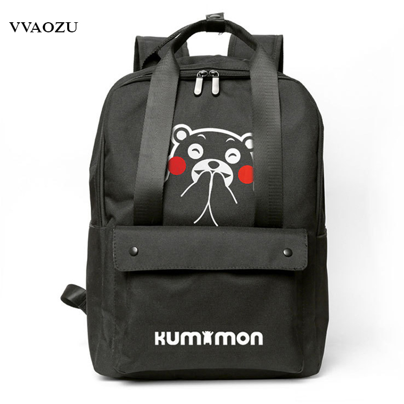 Japan Anime Fate/grand Order Oxford Backpack Spirited Away Schoolbag Daypack Kumamon 14 Inch Laptop Hand Bag Pack With Handles