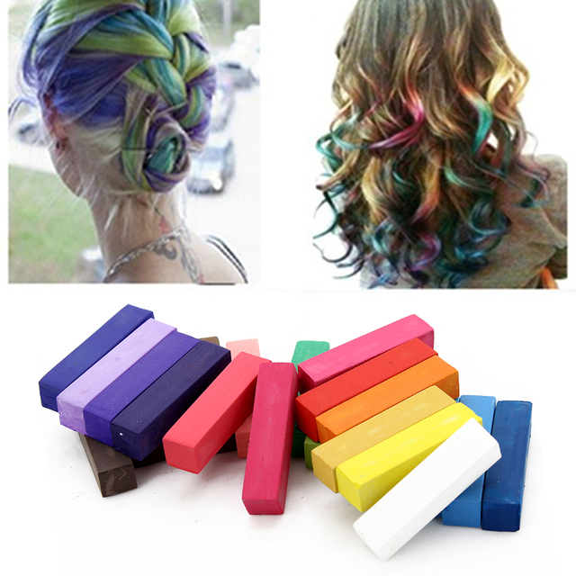 Hair Chalks Multi Color To Choose Temporary Color Hair Chalk