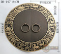 240mm  Ming and Qing furniture, Chinese antique bronze copper door handle drawer cabinets DB-197