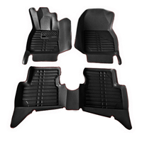 The new car mats Four Seasons General special car Ottomans surrounded by leather car