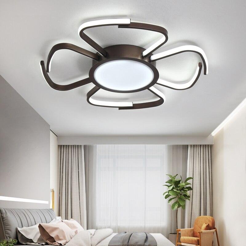 Moderne lustre led éclairage À Distance Plafond lustre lampe luminaire ou à manger salon chambre Étude salon abajour