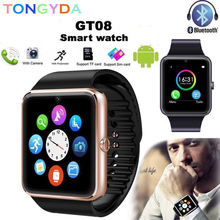 Get more info on the Bluetooth Smart Watch gt08 Android Phone TF Sim Card Camera Men Women Sport Wristwatch For Iphone IOS PK Y1 A1 Clock Smartwatch