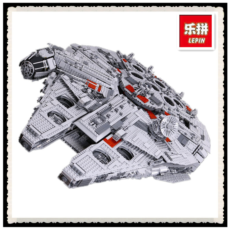 HH Co.,Ltd LEPIN 05033 5265Pcs Star Wars Ultimate Collector's Millennium Falcon Model Building Kit Blocks Bricks Toy Compatible 10179