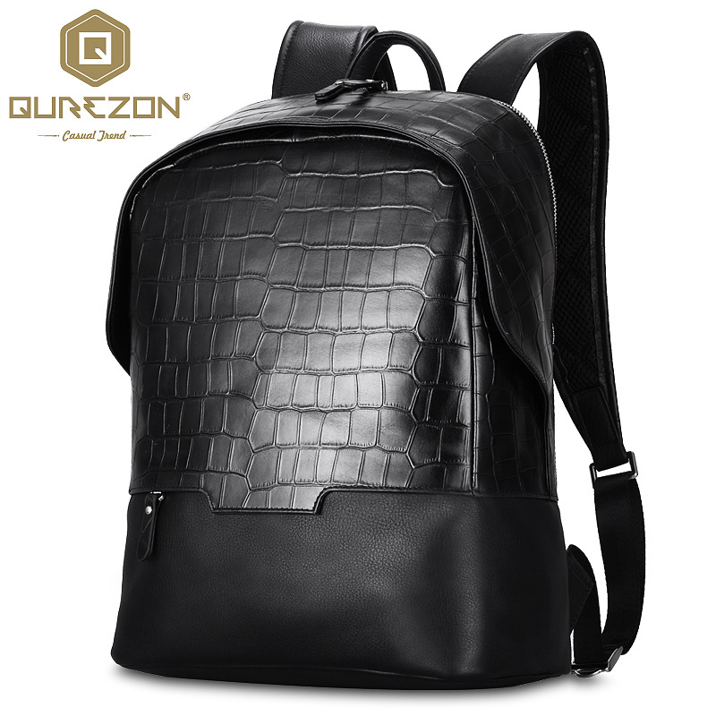 Hot 2017 NEW Brand Laptop Business Genuine Leather Backpack Men Backpacks Travel Bag School Bags Men's  Backpack High Quality zooler genuine leather backpacks 2016 new real leather backpack for men famous brand china hot large capacity hot 65055