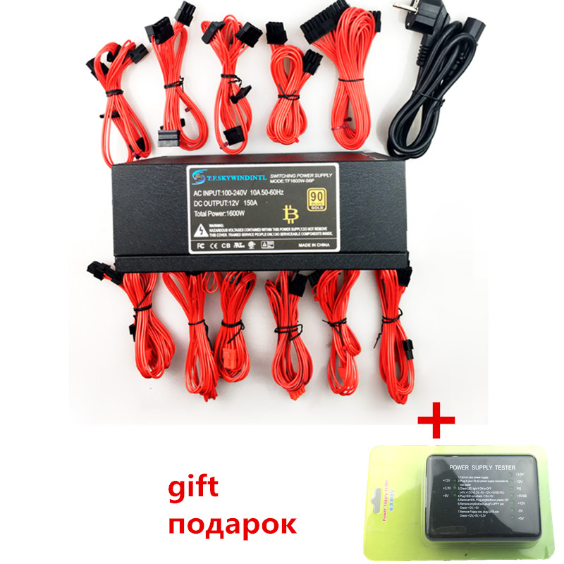 T. F. SKYWINDINTL 1600 w alimentation Bitmain alimentation 1600 W psu antminer 1600 W alimentation modulaire PC ATX alimentation PC