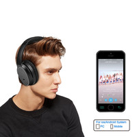 Headphones Bluetooth Wireless Stereo Foldable Noise Cancelling USB Headset
