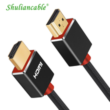 Shuliancable HDMI CABLE 1.4 with Ethernet Adapter 1080p 3D for HDTV LCD Laptop Projector ps3 ps4 Computer cable 1m  2m 3m 5m 10m