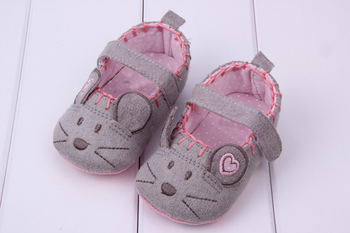 Newborn Baby Girls Shoes Toddler Canvas Animal Pattern Soft First Walkers Princess Baby Shoes For Girl Boy Infant Shoes 3 size Baby's First Walkers
