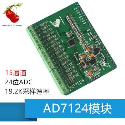 Module AD7124 AD7124, Module AD ADC 24 bits, carte d'acquisition de données d'acquisition ADC de haute précision