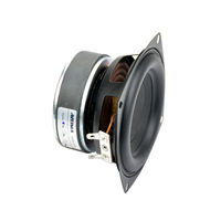 AIYIMA 1PC 4 inch Hi Fi 8ohm / 4ohm Subwoofer Speaker Audio Super Bass Woofer Loudspeaker 40W High Power Speakers