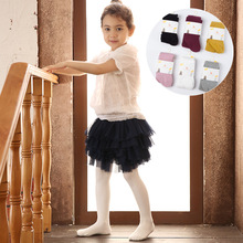 0 7 Years Old Spring Autumn for Girls Tights Cartoon Girl Pantyhose Fashion Cotton Cute Kids