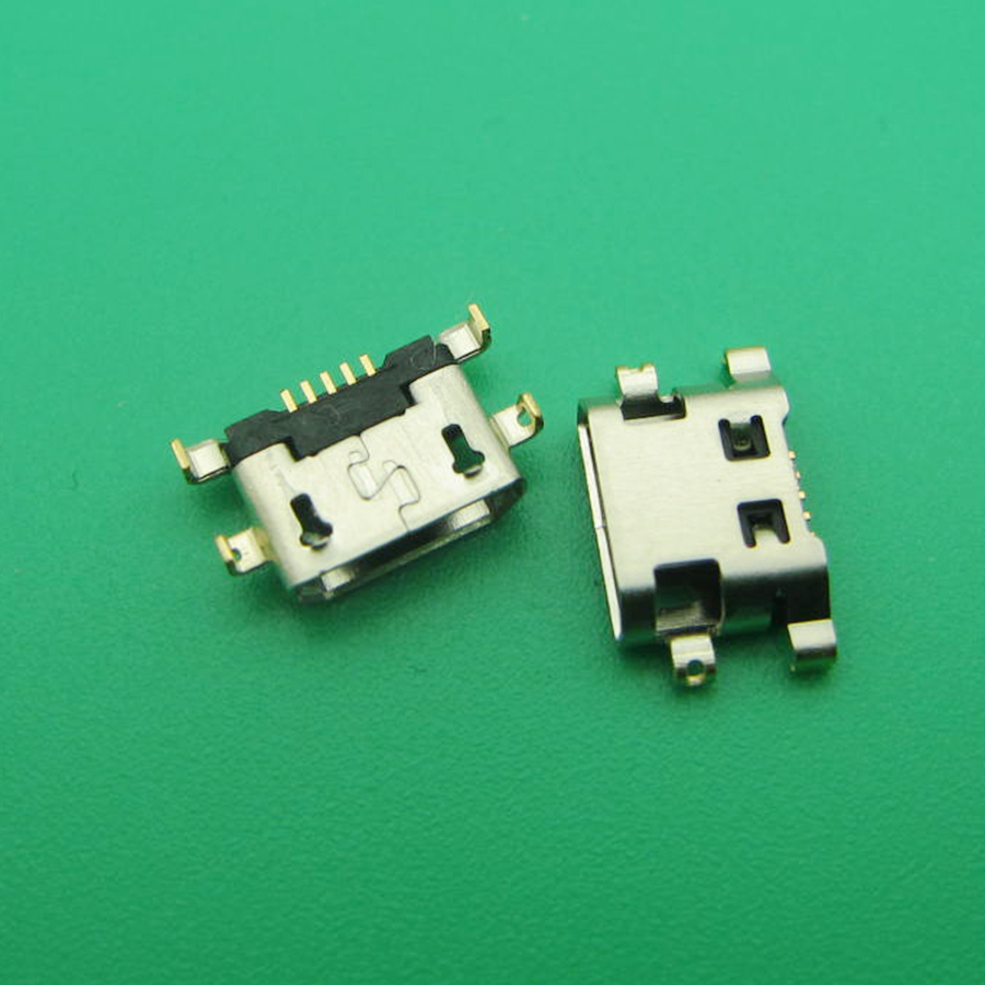 50pcs For <font><b>Alcatel</b></font> <font><b>6035R</b></font> Idol S 4033 4033D POP C3 C7 7041D micro usb charge charging jack connector plug dock socket port image